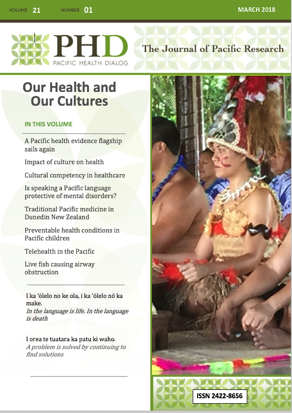Health and Culture - doctors in Samoa preparing for a Kava Ceremony